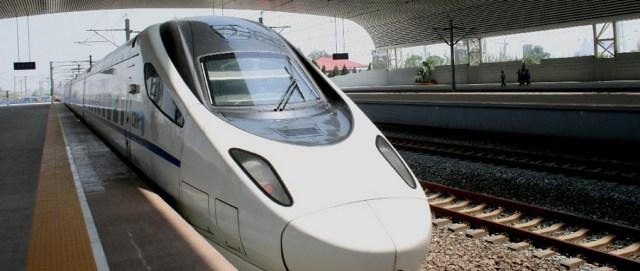 Beijing - Shanghai trenul de mare viteza 1