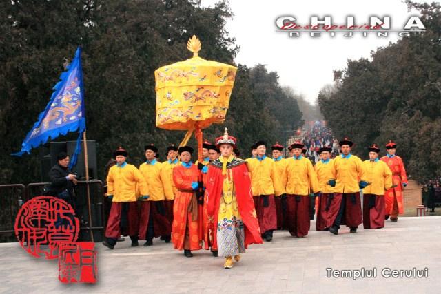Ceremonie la Templul Cerului