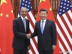Xi Jinping - Barack Obama G20 Hangzhou 1