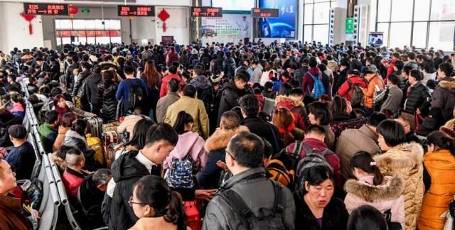 2 Transport Anul Cocosului de foc, China 2017
