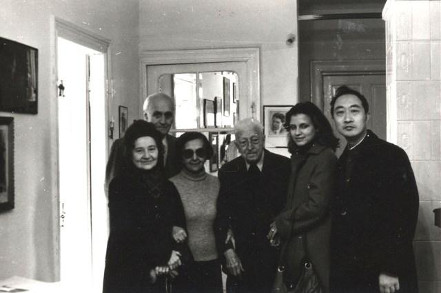 La Casa Memoriala Geroge Enescu,in  1983