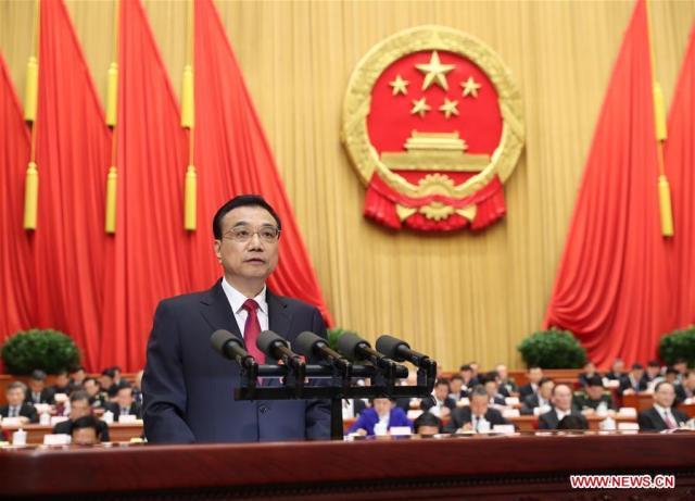 Raport 2017, Li Keqiang b