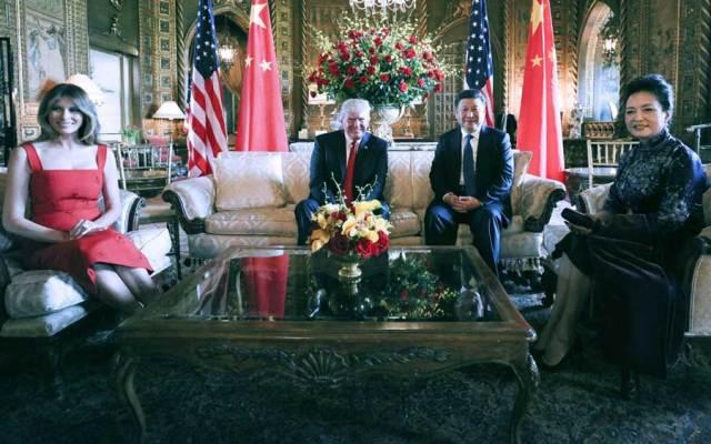 Donald Trump - Xi Jinping_Florida 6.04.2017 c
