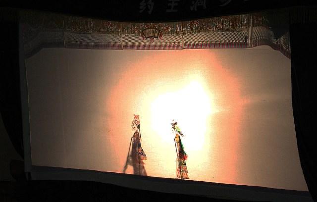 Teatrul de umbre in satul Yuanjia 9