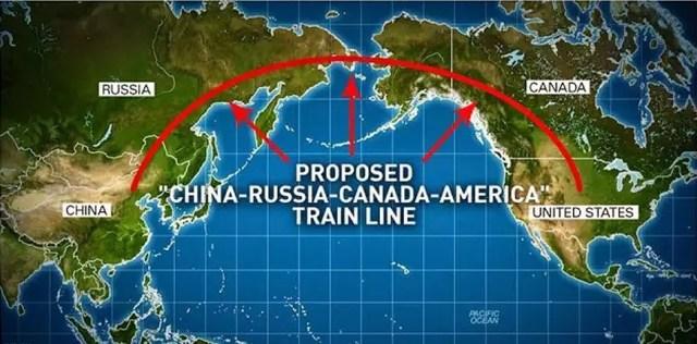 Tren China-SUA 1