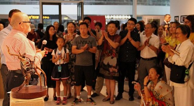 Expozitie RADACINI - Vergil si Liviu Suciu, ICR Beijing 01.08.2017 o