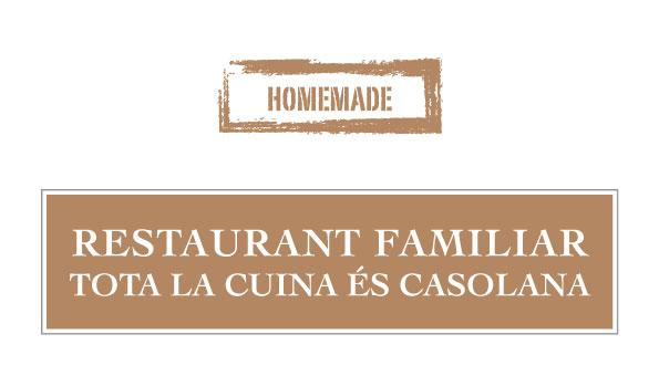 Restaurant familiar homemade