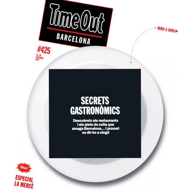 Secrets Gastronòmics Portada Time Out #425