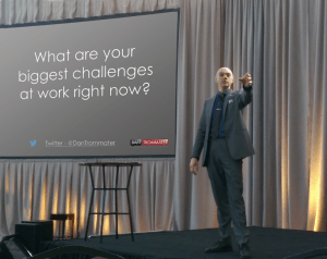 Employee engagement speaker Dan Trommater