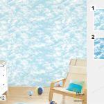 Giấy Dán Tường Hình Mây - PA012