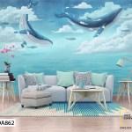 Tranh Dán Tường Đàn Cá Bơi Lội - DA862