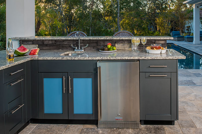 outdoor kitchen sink cabinets stainless