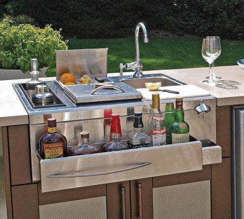 Outdoor Kitchen Amp Bar All Cooling Amenities Danver