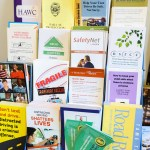 We have resources and crime prevention pamphlets available in our lobby as well.