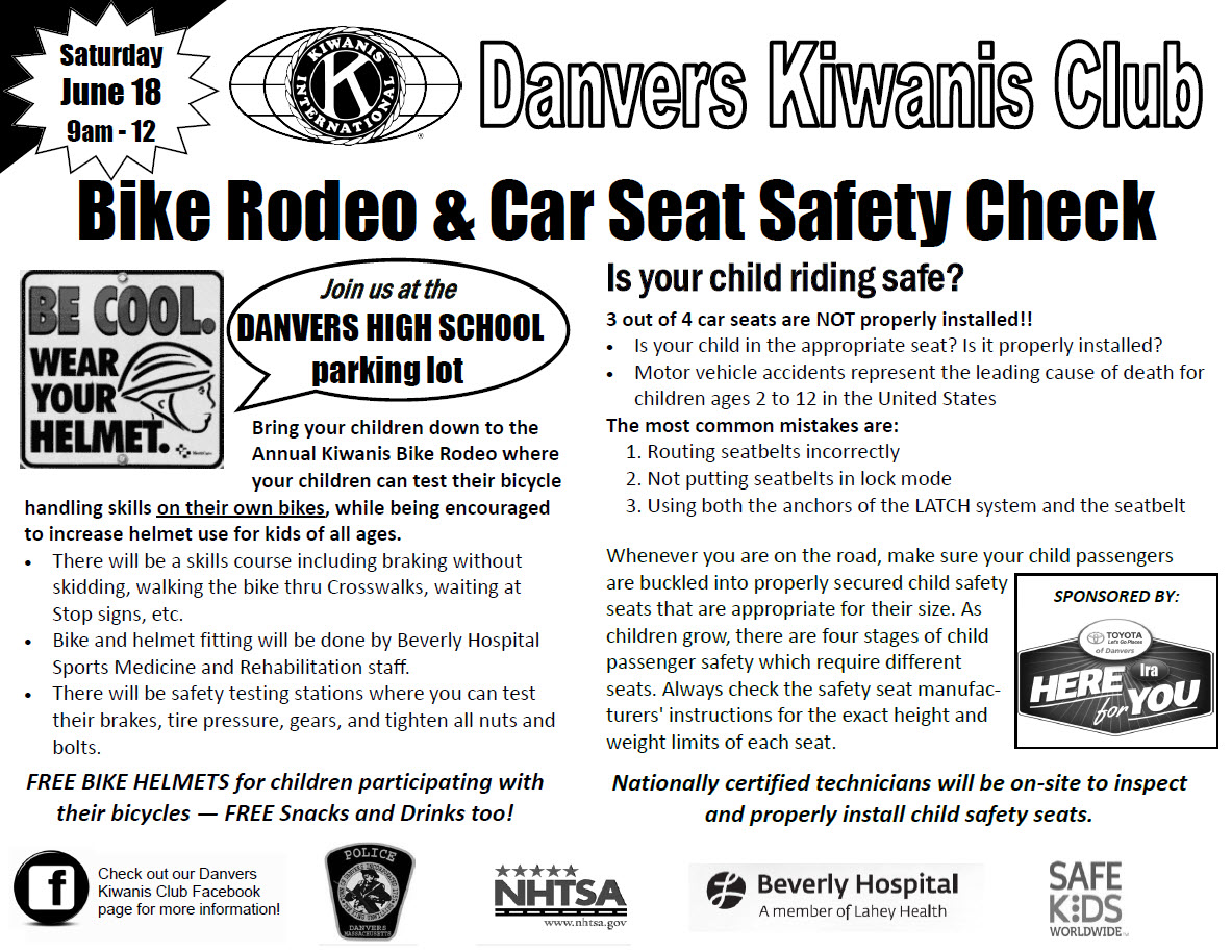 Bike Rodeo and Car Seat Safety Check