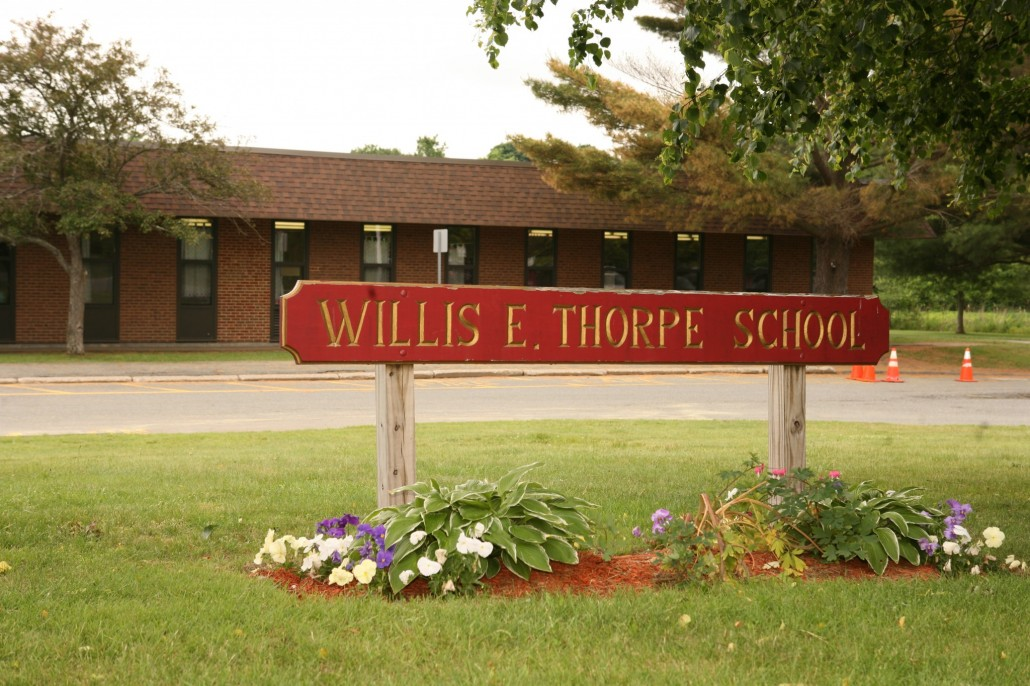 Thorpe sign