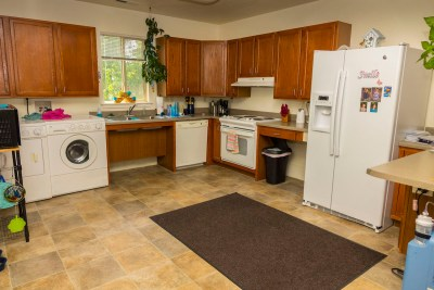Large kitchen in every unit