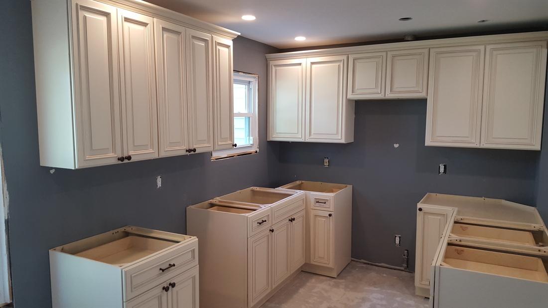 Wellington Ivory Danvoy Group LLC Kitchen Cabinets NJ