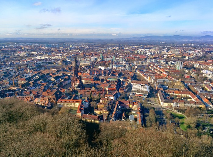 Freiburg from mountain