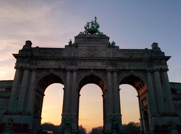 Gate in Brussels