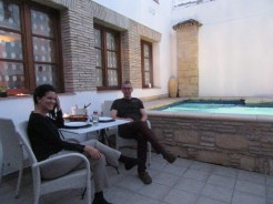 My host and friend in Jerez