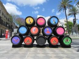 Sherry barrels everywhere