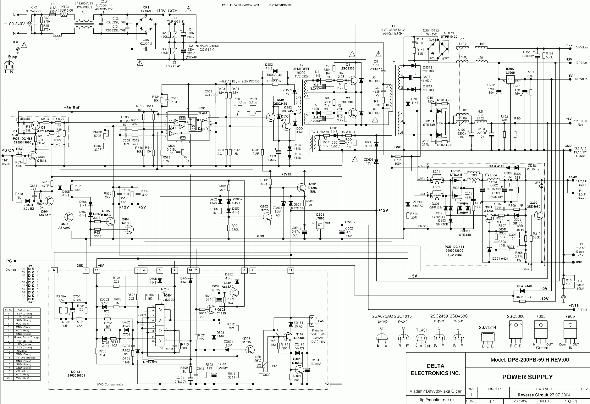 4 wire cpu fan wiring diagram