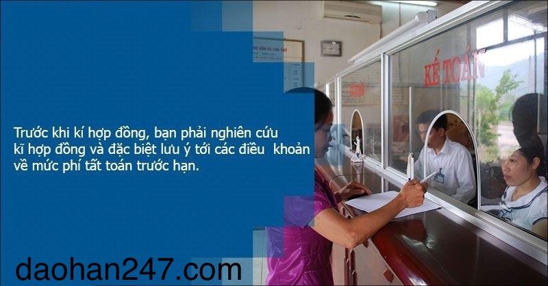 Dịch vụ đáo hạn ngân hàng tại Hà Nội