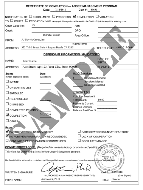 graphic about Printable Anger Management Certificate identify Anger Handle Certification Template. photograph what is anger