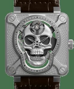 Bell & Ross Skeleton Steel Watch