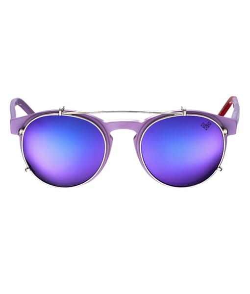 AVIVA-Av 5 Clip with Purple Mirror Lenses