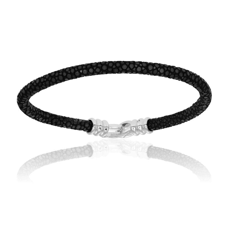 Black stingray bracelet (Unisex)