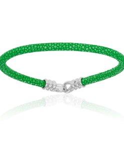 Green stingray bracelet (Unisex)