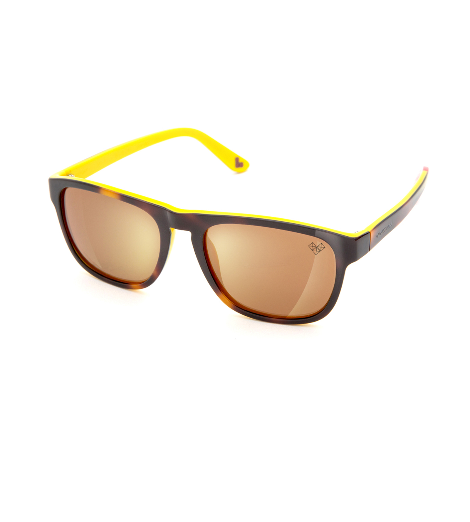 MAYDAY-Md4BR-P with Brown Polarized Lenses