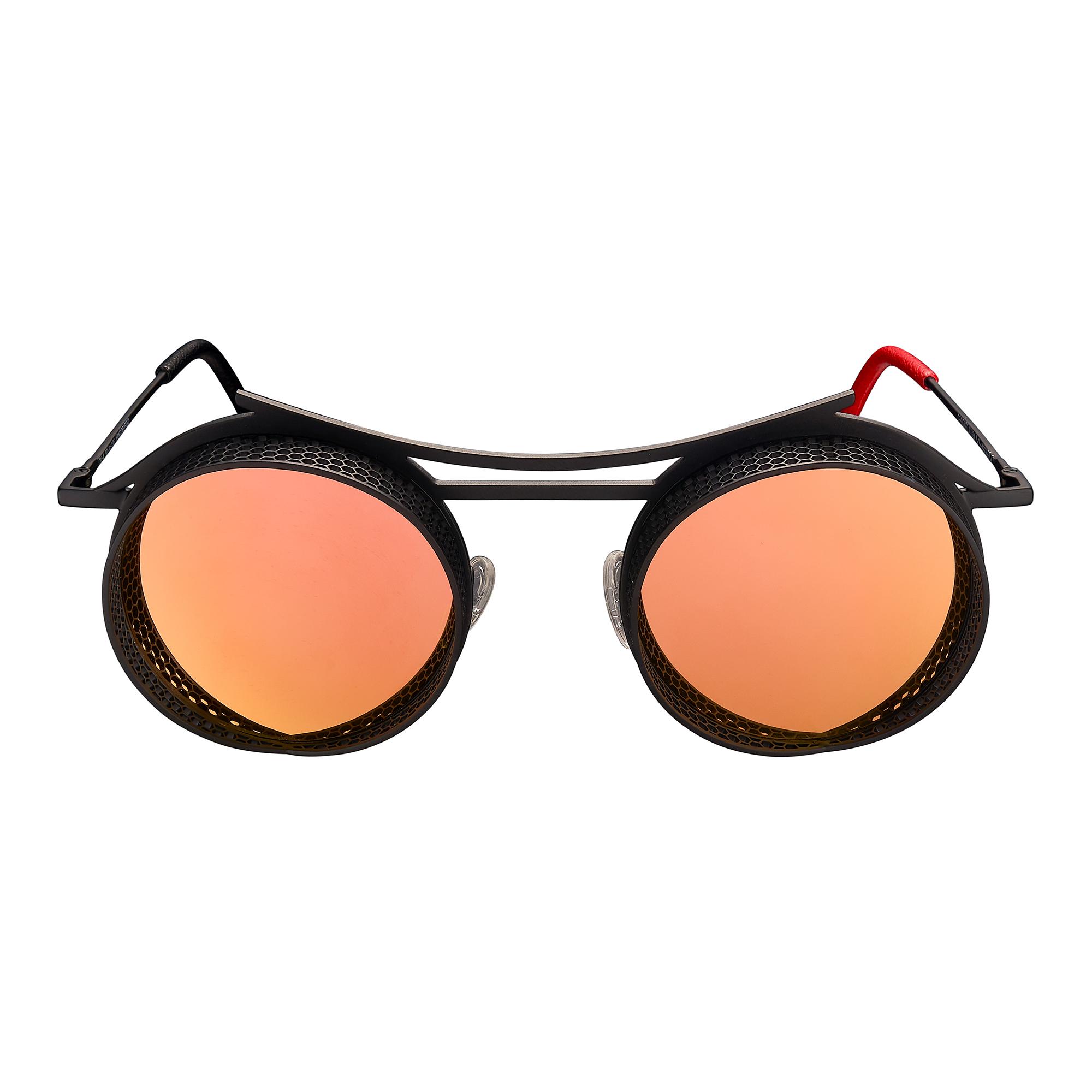 ONIX - OX - 4 - Black Matte Frame + Rose Gold Mirror Lenses