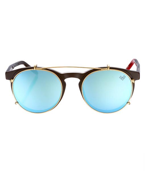 AVIVA-Av 11 Clip With Blue Mirror Lenses