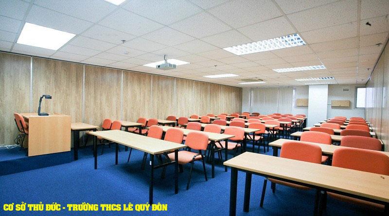 Cơ sở Thủ Đức - Trường THCS Lê Quý Đôn