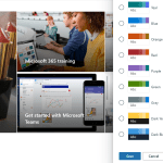 Custom color template for SharePoint Online using PowerShell