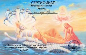 сертификат - аньмо001