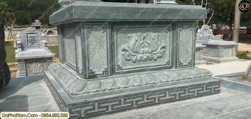 lăng mộ đá xanh rêu, đá phát tâm