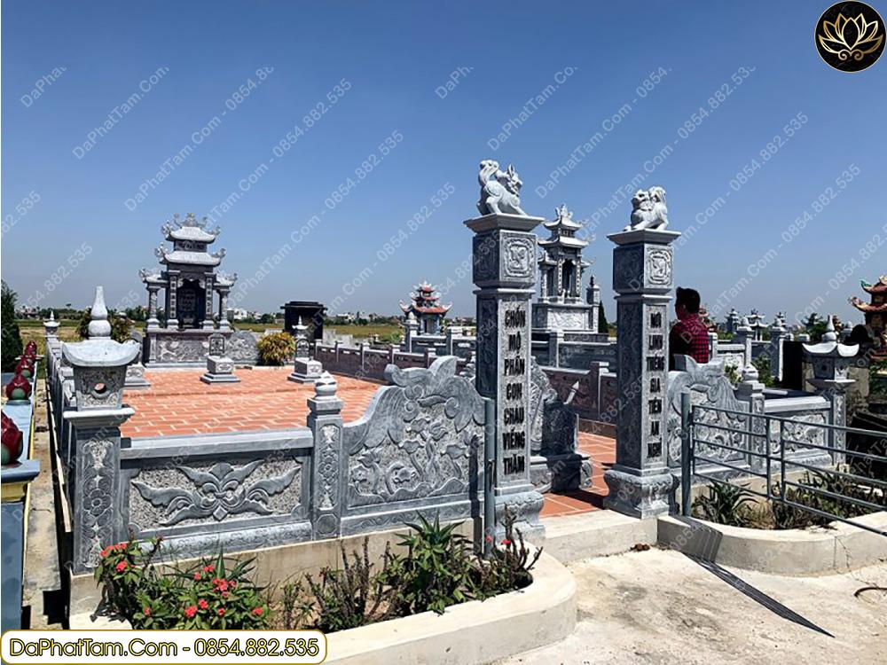 vị trí mộ đẹp theo phong thủy, xây mộ theo phong thủy, đá phát tâm