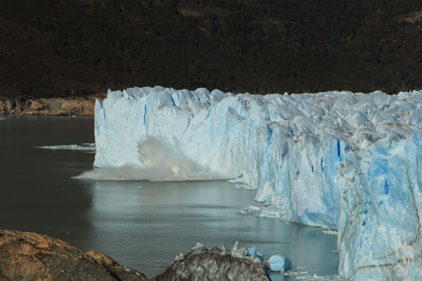 Het geluid van afbrekend ijs is zooo onbeschrijflijk