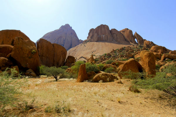 Spitzkoppe campsite campingplek 9a namibie