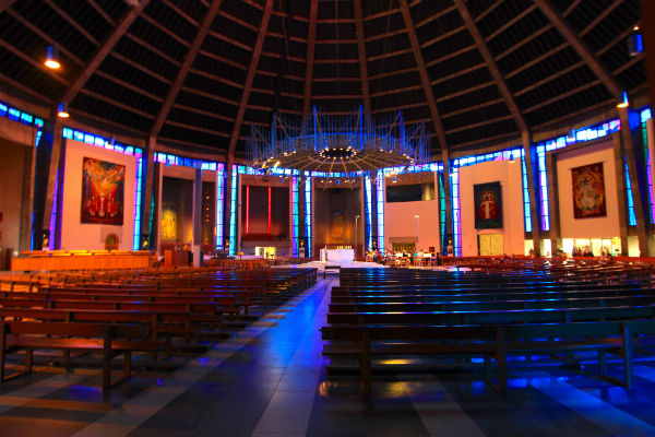 Metropolitan Cathedral of Christ the King liverpool highlight