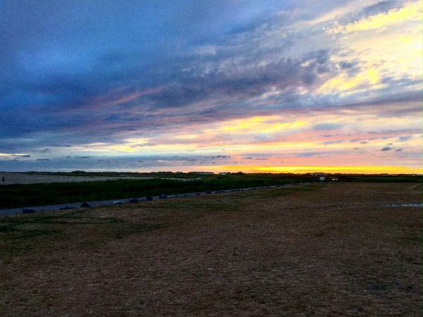 terschelling zonsondergang walvis rood