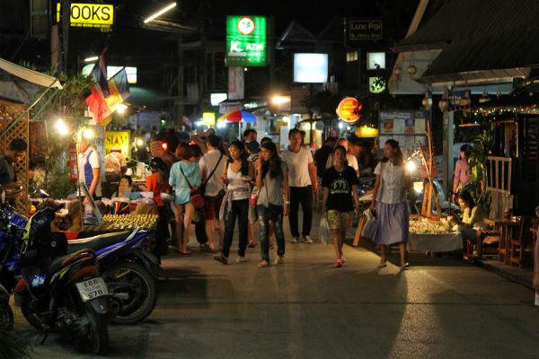 De gezellige straten van Pai