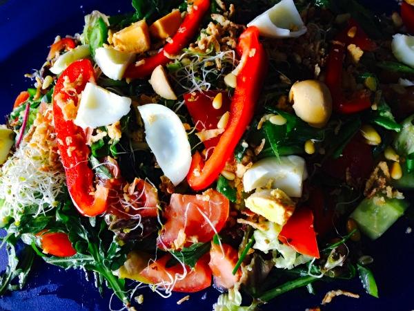 Verrukkelijke salade