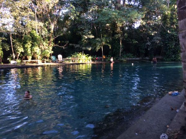 ojo de agua isla de ometepe