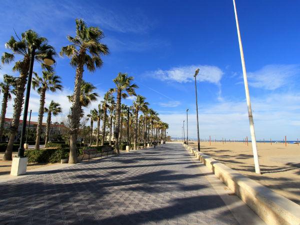 stad strand valencia