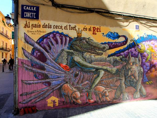 valencia el carmen street art